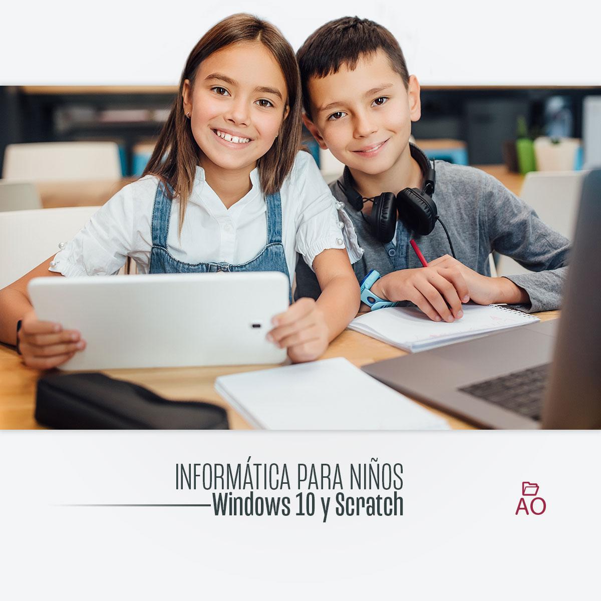 Course Image Informática para Niños